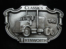 PA13134 *NOS* VINTAGE 1987 **1982 KENWORTH CLASSICS** TRUCK COMPANY BELT BUCKLE