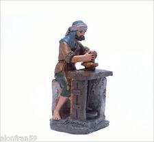 11 cms Mayo BEL957 - Conjunto 7 Artesanos mas horno Figura Belen J.L