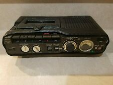 SONY TCM-5000EV 3-Head Portable Cassette Recorder Leather Case AS IS FOR PARTS