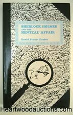Sherlock Holmes and the Hentzau Affair by David Stuart Davies FIRST- High Grade
