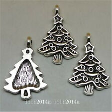 15pc Tibetan Silver Christmas tree Charm Beads Pendant Wholesale  PL937