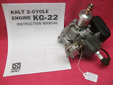 *BRAND NEW* KALT ZENOAH KG-22 G-22 22cc GAS RC AIRPLANE ENGINE w MUFFLER NOS