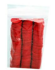 100 PACK - SPOOL PIN FELTS RED - SINGER FEATHERWEIGHT 221 222 301 - 8879 RED