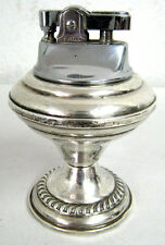 Vintage Sterling Silver Weighted Table Cigarette Lighter by Empire 400 EHCI Rare