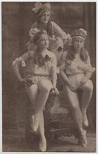 GERMANY POSTCARD - Geschwister Althoff, sisters? possibly circus performers
