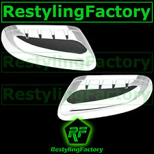 11-14 Ford Explorer Chrome TOP HALF triple plated Mirror Cover 2013 Left+Right