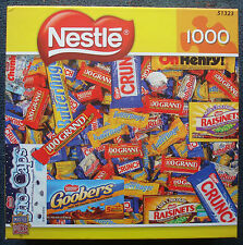 jigsaw puzzle 1000 pc Nestle candy bars Crunch Butterfinger Raisinets Baby Ruth