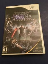 STAR WARS THE FORCE UNLEASHED --- WII w/ Original Box