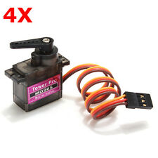 4 X Towerpro MG90S Metal Gear RC Micro Servo