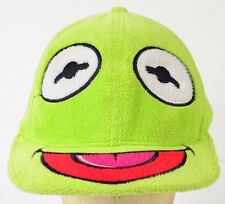 Kermit the Frog Muppets Jim Henson Green Baseball Hat Cap Fitted 7 1/8 - 7 1/4