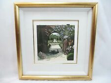 """DAVID SUFF HAND COLORED ETCHING - """"VOICES & SHADOWS"""" - limited edition 5/200"""