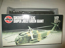 SIKORSKY HH-53C SUPER JOLLY GREEN GIANT KIT MONTAGGIO AIRFIX SCALA 1:72