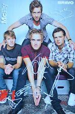 MC FLY - Autogrammkarte - Signed Autograph Autogramm Fan Sammlung Clippings