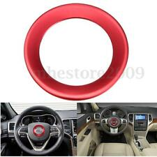 Red Steering Wheel Cover Center Trim For 2014-2016 Jeep Grand Cherokee Cherokee