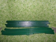 Fisher Price Geotrax Green Elevated Train Tracks ~ Set of 2