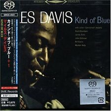 "MILES DAVIS ""KIND OF BLUE"" JAPAN STEREO SACD DSD RM 1999 *SEALED*"