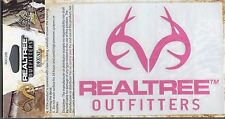 Realtree Pink Outfitters Decal hunting truck car window stickers RDE1208