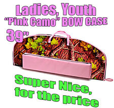 "39"" PINK CAMO Archery BOW CASE Fits Bowtech Assassin, Diamond Infinite Edge"