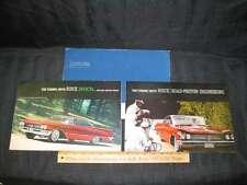 1960 Buick Invicta Folder Sales Brochure (CDN) 3pcs