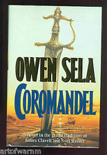COROMANDEL-  Novel of the Early East India Company ,Owne Sela,  1st UK  HB w/dj,