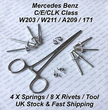 Mercedes C/E/CLK Class W203 / W211 / A209 DOOR LOCK REPAIR KIT - POP RIVETS&TOOL