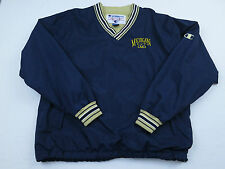 Vtg Champion Mens Michigan Wolverines NCAA Football Windbreaker Jacket Sz M