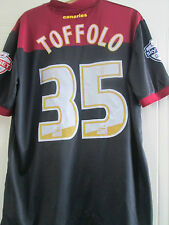 Norwich City Harry Toffolo Match Issue 2014-2015 Away Football Shirt /40425