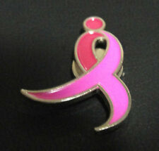 Susan G. Komen Breast Cancer Awareness Pink Ribbon Magnetic Lapel Pin New In Bag