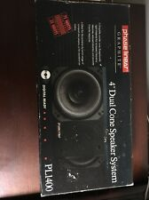 "Phase Linear PL1400 4"" Dual Cone Car Speakers Vintage / Rare  New In Box"