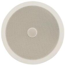 """Adastra 952.543 8"""" 20cm Ceiling Speaker Easy Fit Directional Tweeter White/Grey"""