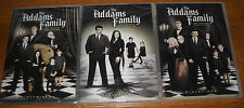 The Addams Family: The Complete Series (DVD, 9-Disc Set) 1 2 & 3 NEW FREE SHIP!