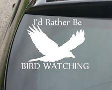 Grandi piuttosto essere Uccello GUARDA DIVERTENTE Auto / Finestra JDM VW Euro Vinile Adesivo Decalcomania