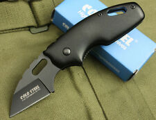 New Cold Steel Folding 710MT Pocket Mini knife 3Cr13 Blade metallic Aluminum
