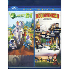 Planet 51/Hoodwinked (Blu-Ray, 2011, Bilingual)New - Double Feature