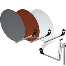 80cm Standard Alluminio Parabola Satellitare Antenna Rosso mattone 80 cm