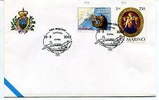 2002-09-28 San Marino Ravenna gifra ANNULLO SPECIALE Cover