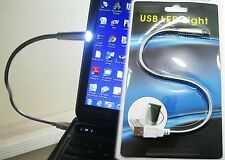 Metal USB Flexible Led Light Lamp Laptop Notebook Portable Bright PC Computer