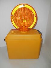 New EMPCO-LITE Barricade / Construction Caution Safety Light Dual Lens No. 1102