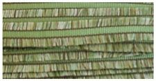 1 1/2 Inch Wide Green Multi-Colored Double Edge Fringe Fabric Trim 12 Yards