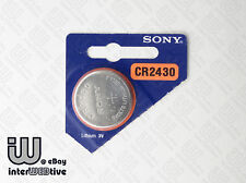 1 Pcs New With Packing SONY CR2430 CR 2430 DL2430 Coin Cell Battery Batteries 3V