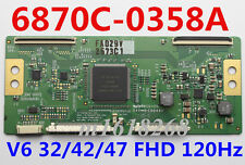 NEW Original 6870C-0358A T-CON board  MODEL: V6 32/42/47 FHD 120Hz 6870C-0358A