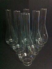 0117 Lume a petrolio  in vetro n*6 ricambi glass verrè bocce diam. inf. 5 cm