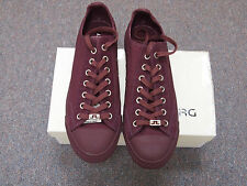 NEW J LINDEBERG ARENA 6 CANVAS PLUM SIZE: US 13  UK 12