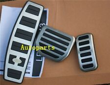 Fuel Brake Foot Rest AT pedal Cover Land Range Rover sport LR3 LR4 DISCOVERY 3 4