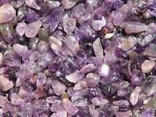 Amethyst Crystal Chips, 200 grams  - Purple - Un drilled