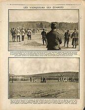 Bataille de la Meuse Les Éparges Général Frédéric-Georges Herr France 1915 WWI
