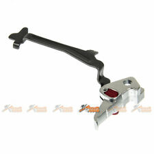 17 Style Flat Trigger w/Trigger Lock for ACP 600 Series Airsoft GBB