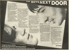 19/2/83PN11 ARTICLE: CHINA CRISIS THE BOYS NEXT DOOR