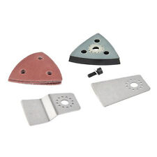 4pc General Purpose Multi-Cutter Sander Sanding Scraper Accessory Kit