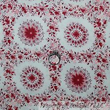 BonEful Fabric FQ Cotton Quilt Jennifer Paganelli Pink Flower Toile Girl SISBOOM